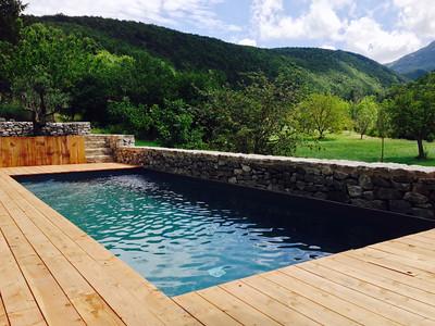 piscine Colar-les jardins en cascades